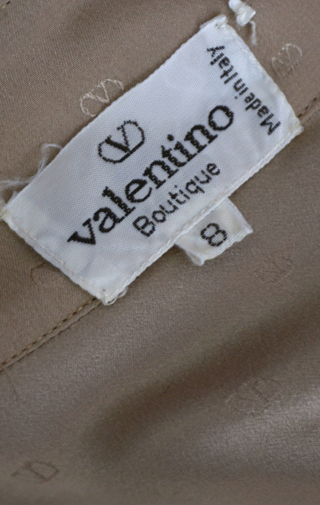 Valentino Boutique silk blouse vintage