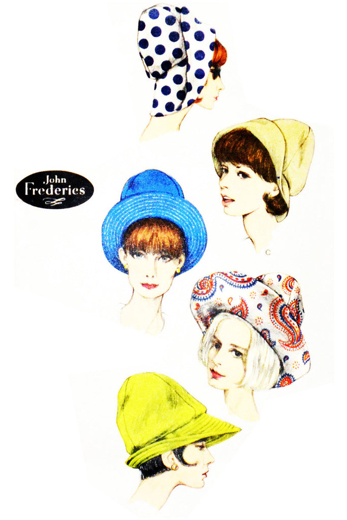 Vintage Vogue 6411 hat pattern