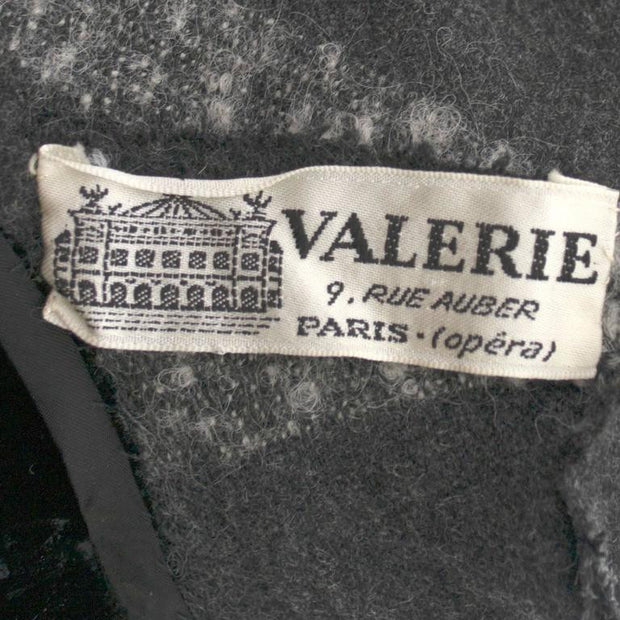 Valerie 9 Rue Auber Paris Boutique Vintage Opera Coat Dress Label