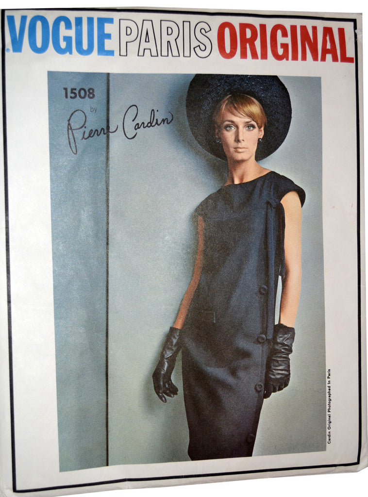 Vogue Paris Original 1508 Pierre Cardin dress pattern