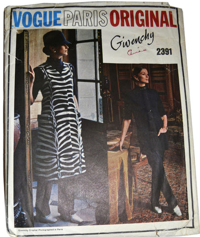 Vogue Paris Original 2391 Givenchy sewing pattern 34B - Dressing Vintage