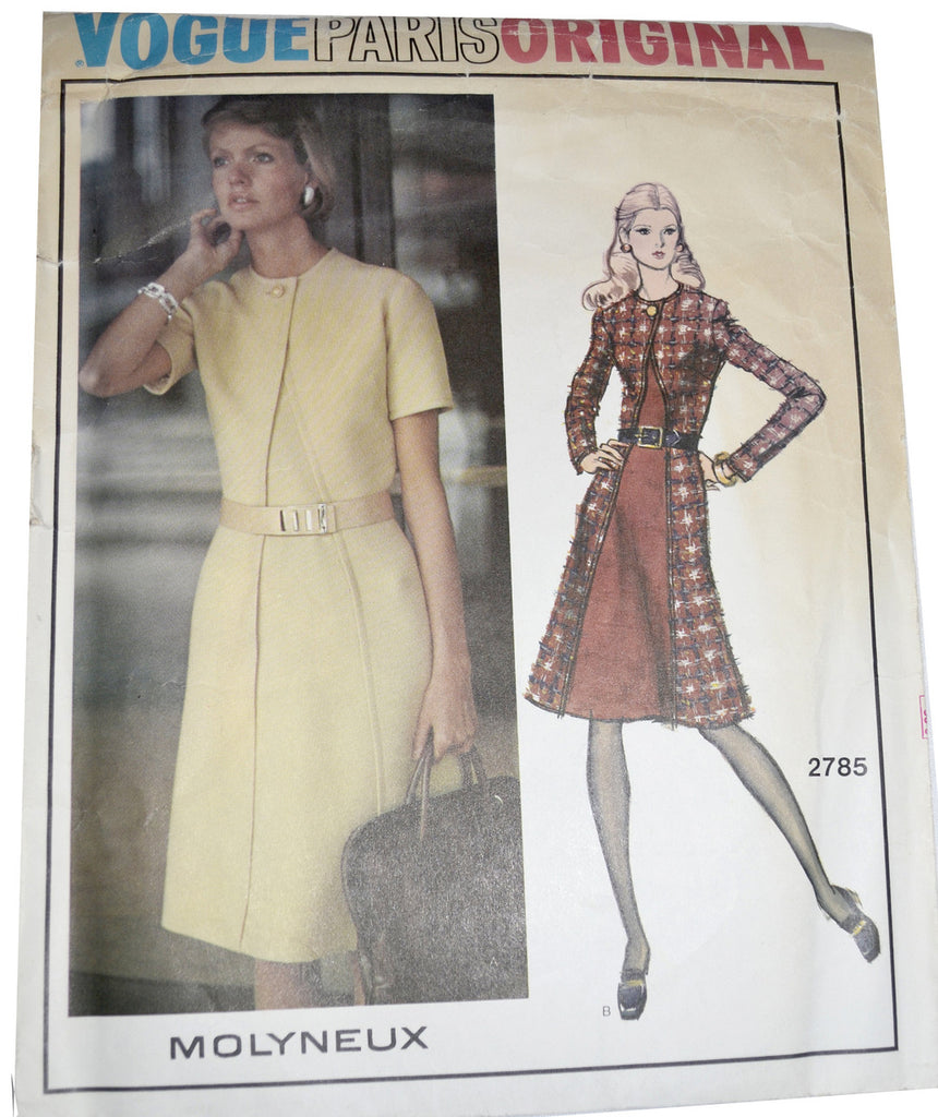 Vogue Paris Original 2785 pattern Molyneux dress
