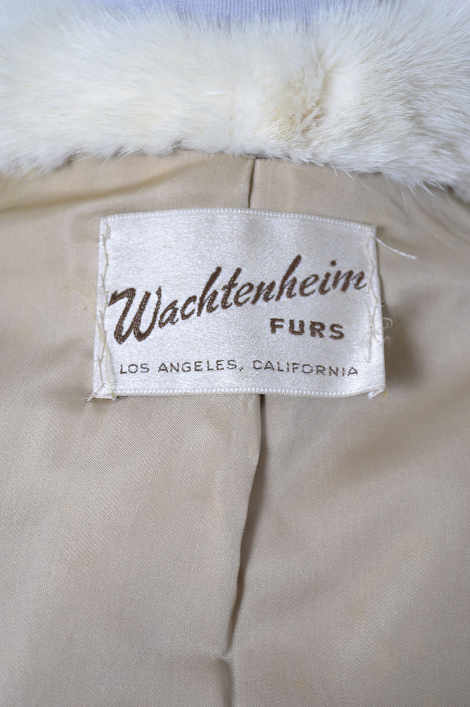 Vintage mink coat Jacket Wachtenheim furs Los Angeles