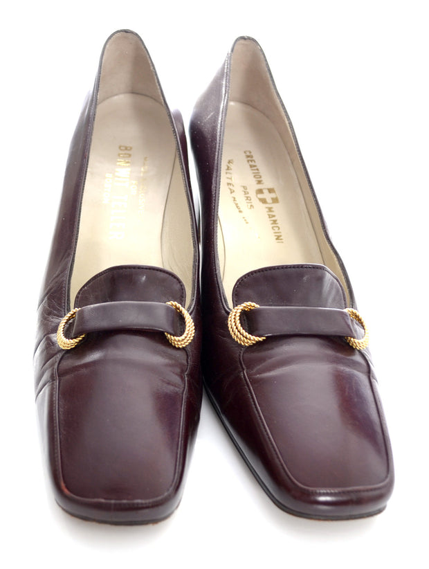 1970s Rare Vintage Creation Mancini Waltea Shoes 8.5 Made in Italy - Dressing Vintage