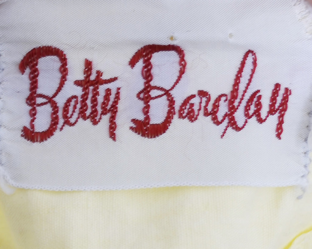 vintage dress Betty Barclay