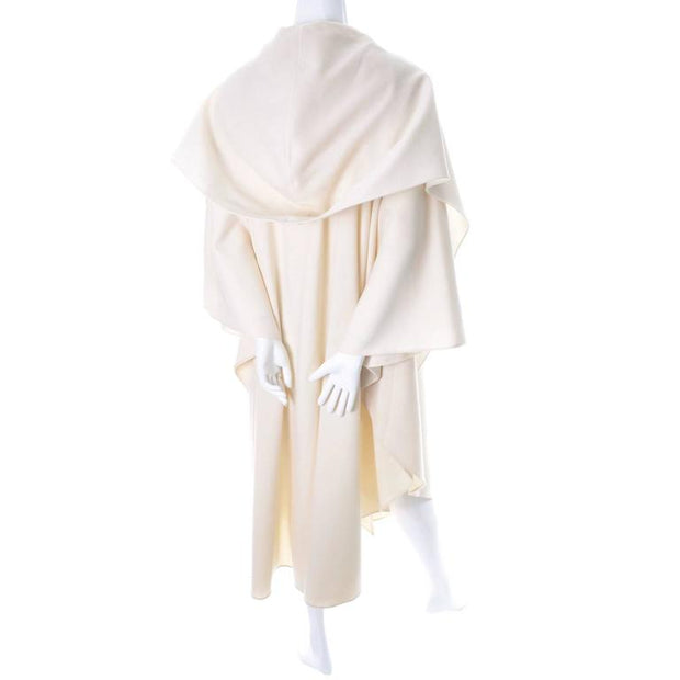 One size fits all hooded vintage cape
