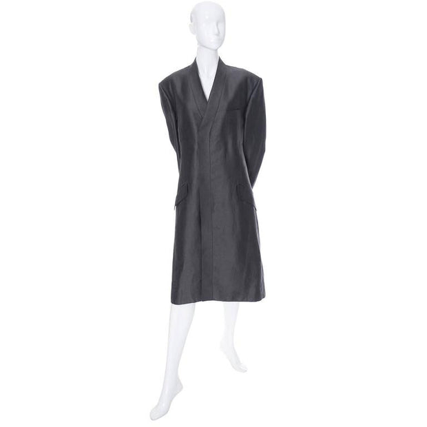 Long coat for men by YSL Yves Saint Laurent Rive Gauche