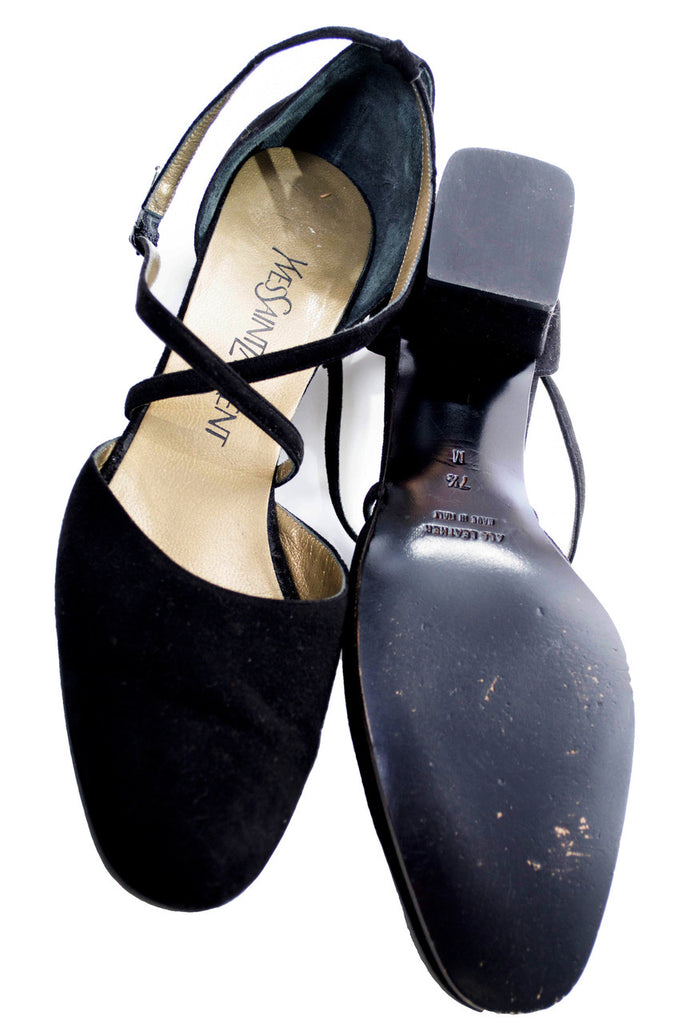 Yves Saint laurent designer vintage shoes