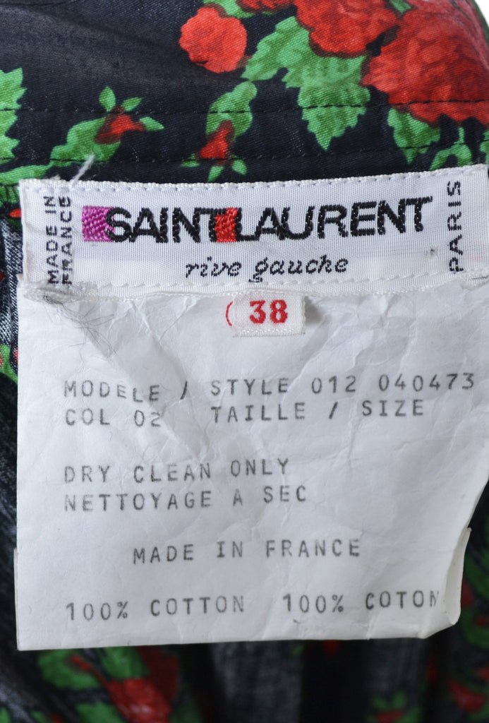 Vintage Yves Saint Laurent Rive Gauche from 1970s