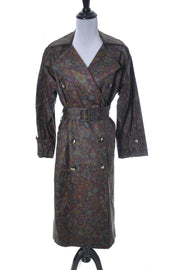 Yves Saint Laurent Rive Gauche Vintage Raincoat | Dressing Vintage