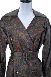 Yves Saint Laurent Rive Gauche Vintage Raincoat - Dressing Vintage