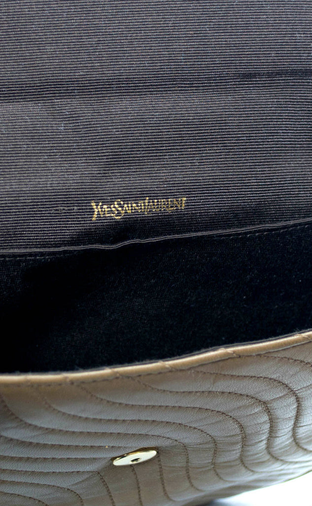 Authentic Yves Saint Laurent Designer Vintage Handbag - Dressing Vintage