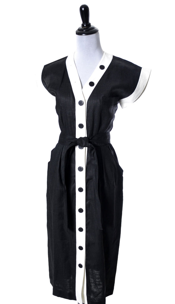 YSL vintage dress yves saint laurent