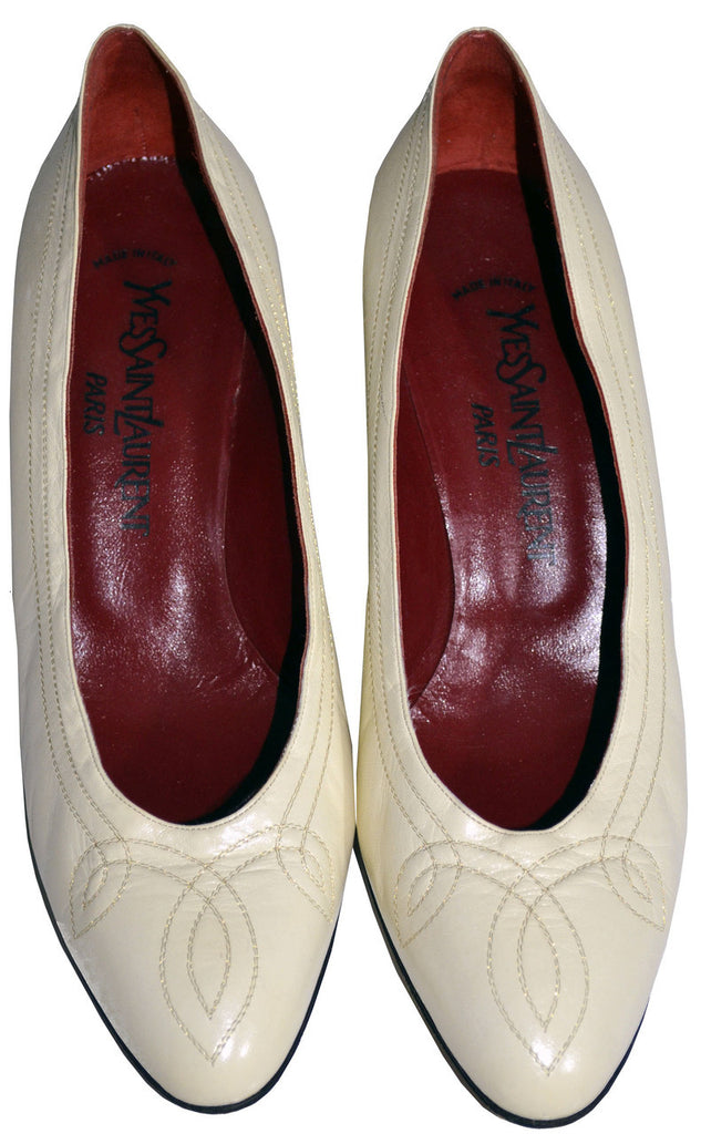 Yves Saint Laurent YSL vintage shoes