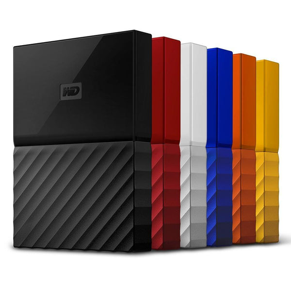 WD My Passport USB 3, 1-2-3-4To