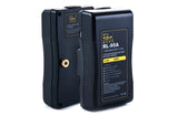 Rolux batteries with V or Gold AB Mount and LED indicator