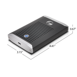 G-DRIVE Pro Mobile SSD Thunderbolt3