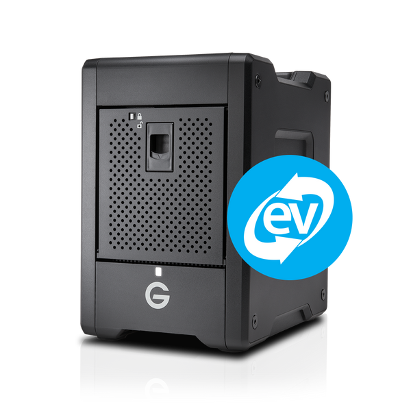 G-Speed Shuttle  Thunderbolt3 4 bay with Ev