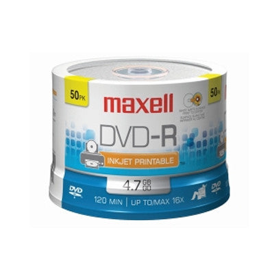 DVD-R with logo 16X Pk50