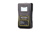 Rolux batteries with V or Gold AB Mount and comprehensive LED information Panel