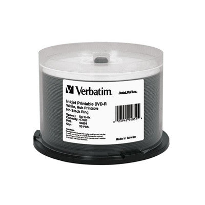 DVD-R White Inkjet Hub 16x Pk50 WATER GUARD