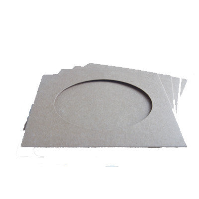 CD/DVD White cardboard sleeve with window
