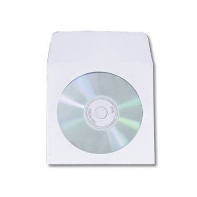CD/DVD paper sleeve with window