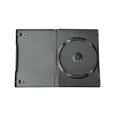 Double DVD case black side by side