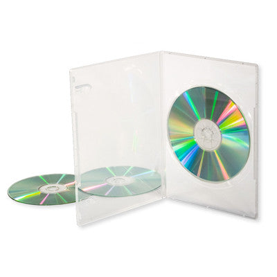 DVD case clear