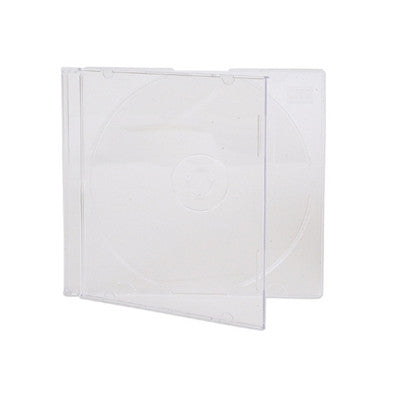 CD Jewell case thin base clear