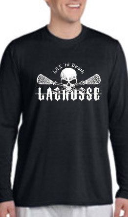 INTRODUCING... Lax 'til Death Performance Shirts!