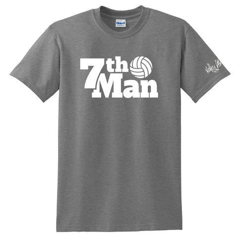 "Volley Life® ""7th Man"" Short Sleeve Tee"