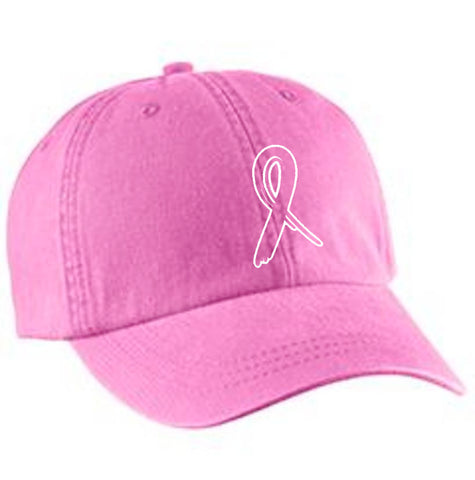 "Breast Cancer Awareness ""Ribbon""  Ball Cap"