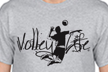 Volley Life® Men's Short Sleeve Tee