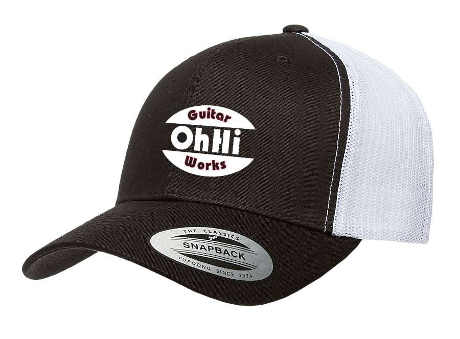 OhHi Guitar Works Snap Back Trucker Hat