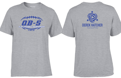 Derek Hatcher Foundation QB-5 Performance Tees
