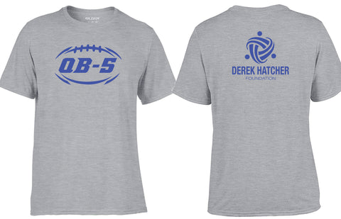 Custom Derek Hatcher Foundation QB-5 Performance Tees
