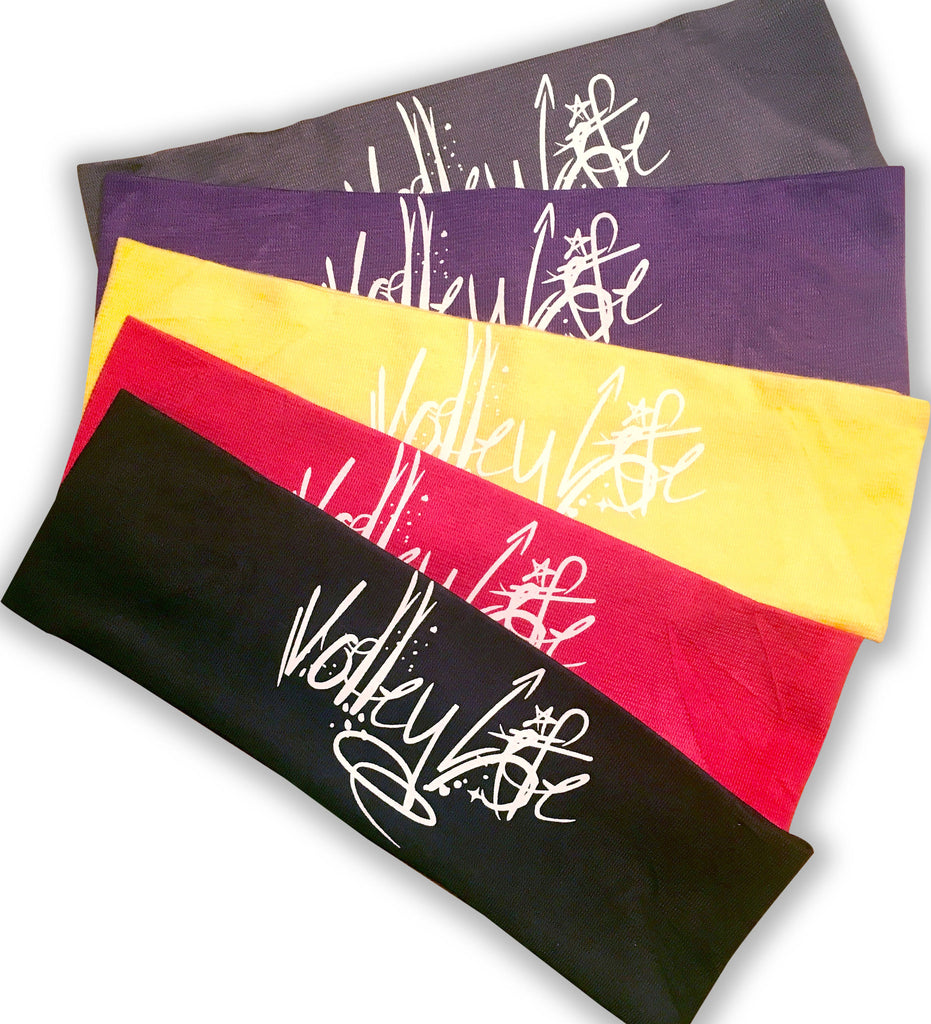 "Volley Life® Stretch Cotton 2"" Headbands"