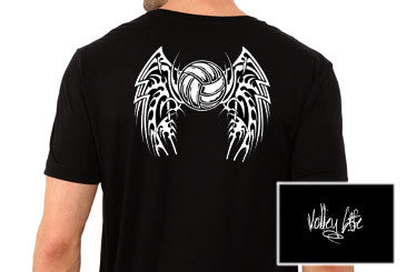 Volley Life® Volley Wings Short Sleeve Tee