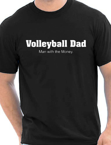 Volley Life® Volleyball Dad Tee