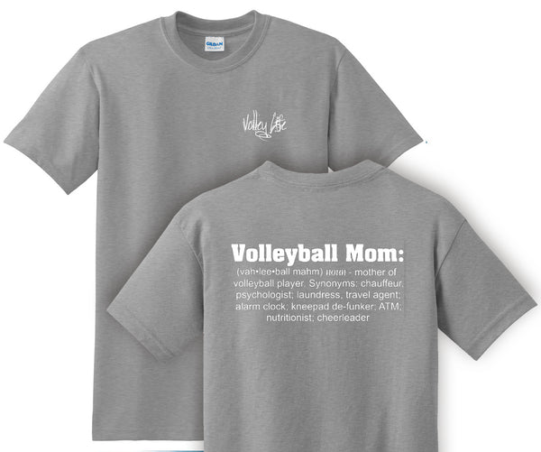 Volley Life® Volley Mom Definition T-Shirt