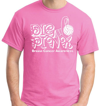 "Breast Cancer Awareness ""Dig Pink"" Tee"