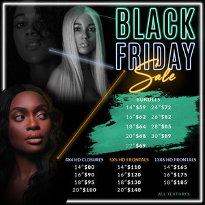 Black Friday Frontal Sale
