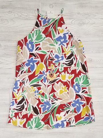 Cindy Camo Print Pocket Dress