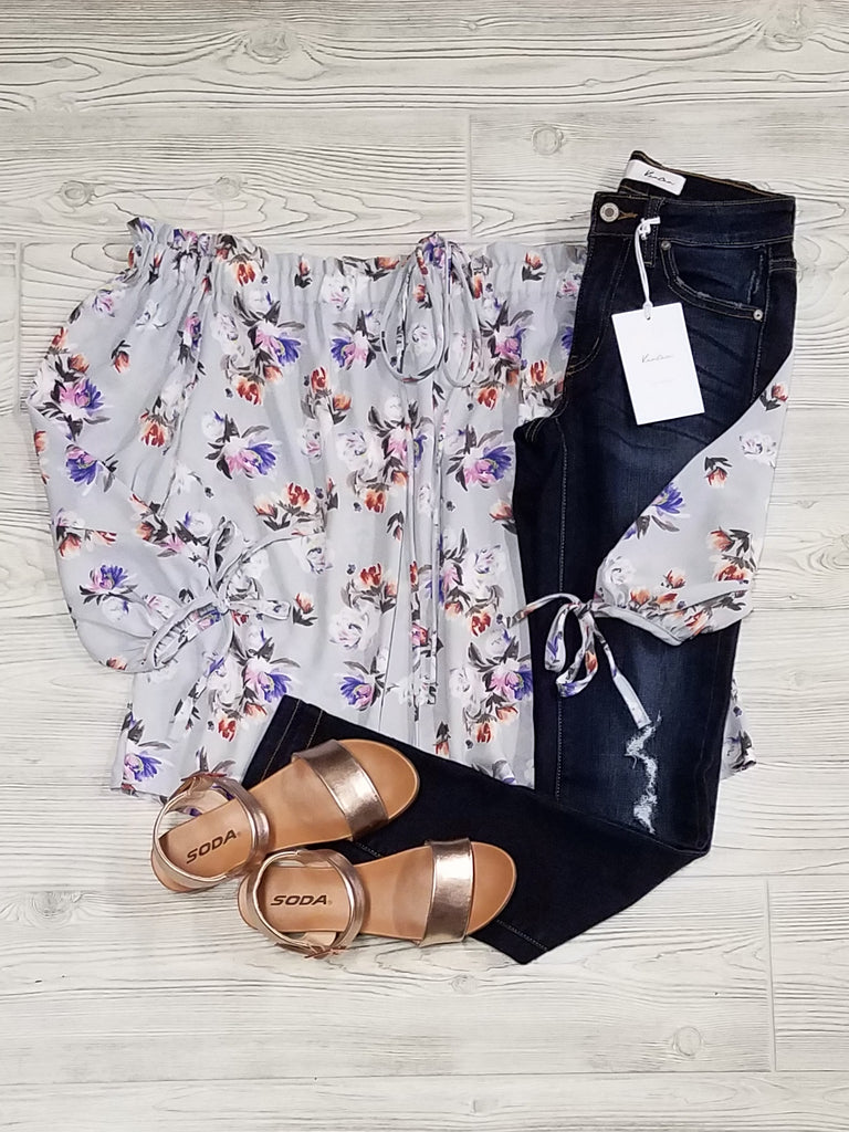 Kate Off the Shoulder Floral Top