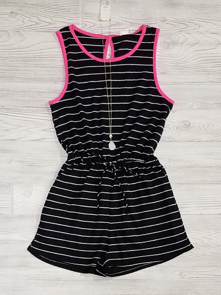Tinlee Striped Rompers