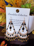 Chandelier ISU or IOWA Earrings