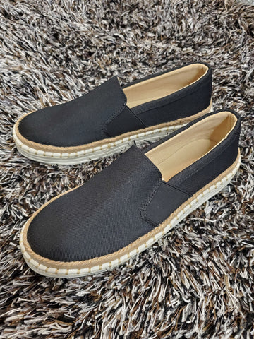 Pointed Black Loafers