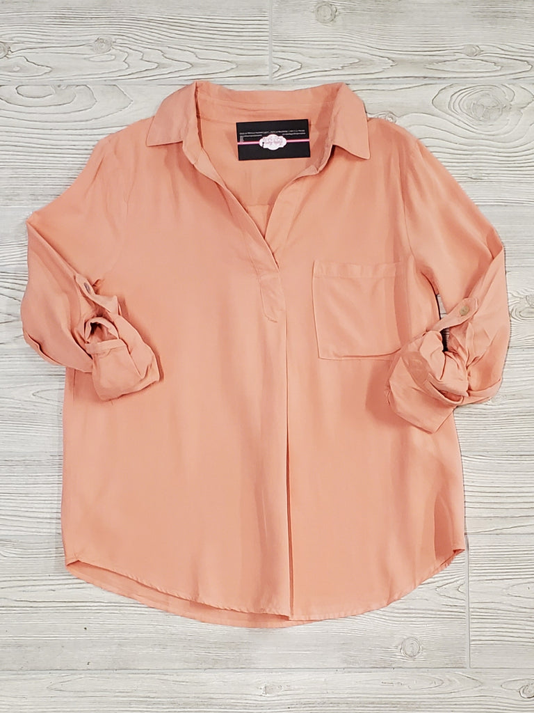 Sheeyna Peach Utility Top