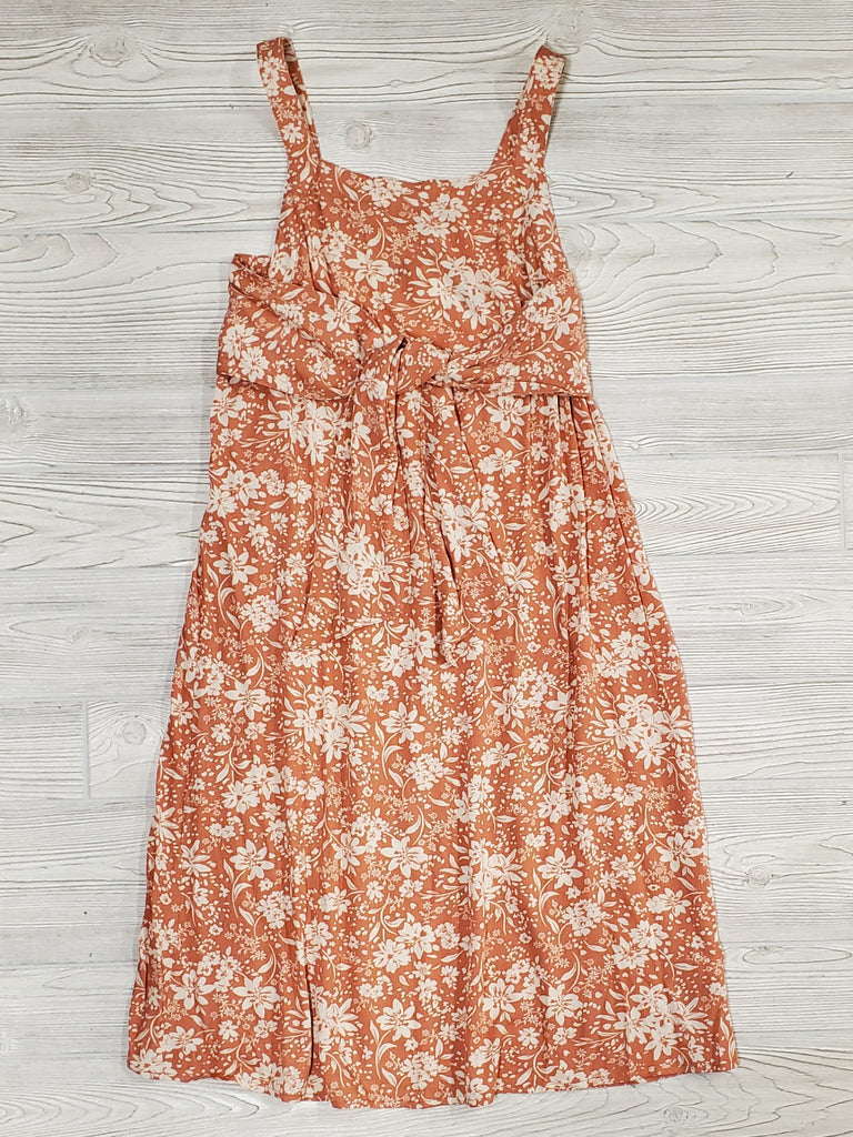 Daphne Tied Floral Dress